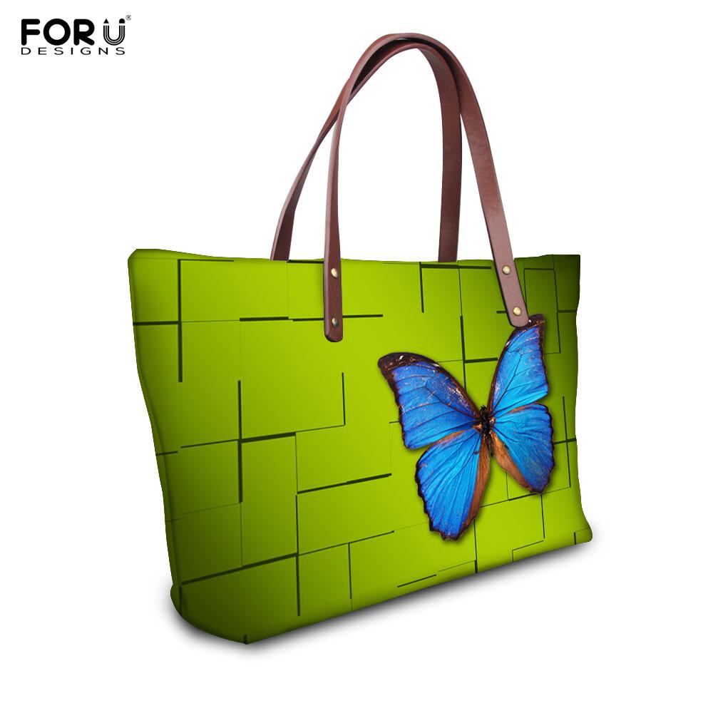 2015 New European Style Handle Handbag Fashion Butterfly printing Women Handbag Desigual Tote Bag Bolsa Feminina<br><br>Aliexpress