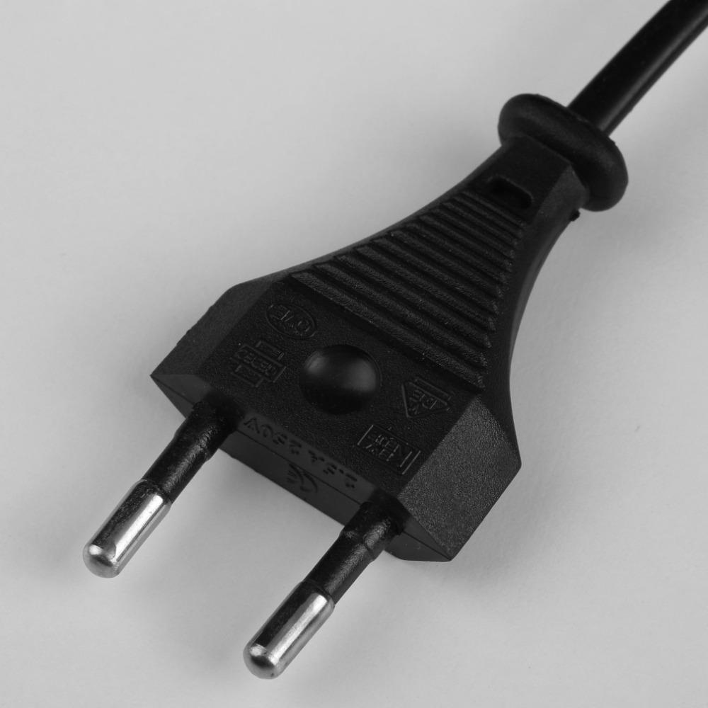 1Pcs 18650 Li ion Rechargeable Battery AC Wall Charger EU Plug Adapter Brand New
