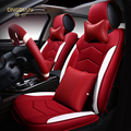 6D Styling Car Seat Cover For Toyota Camry Corolla RAV4 Civic Highlander Land cruiser 200 Prado