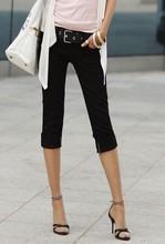 New 2015 Fashion Summer Korean Slim Elastic Cotton Capris short Pants Trousers KZ4009 pantalones de las