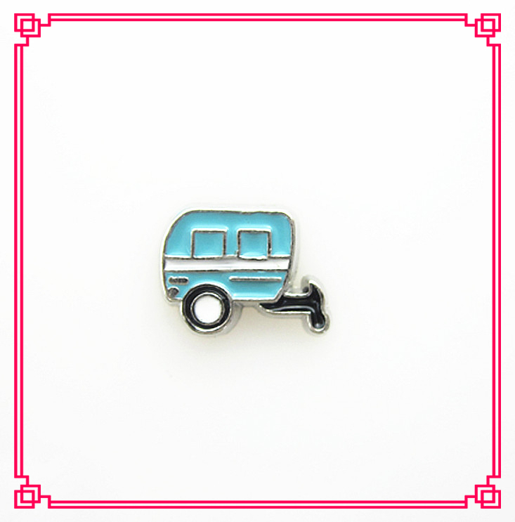 New arrive train head floating charms living glass memory floating pendant lockets for diy jewelry(China (Mainland))