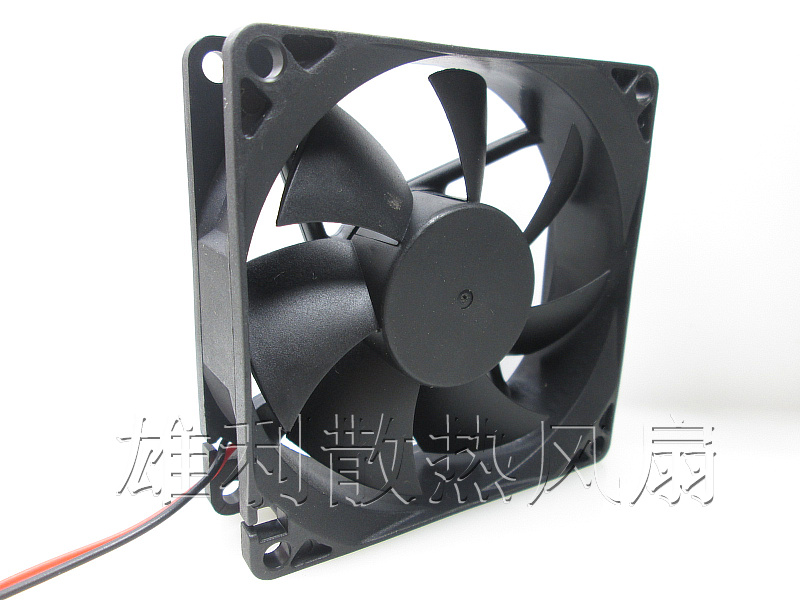 8cm fan ultra-quiet wind capacity hydraulic bearing 8 cm chassis fan power supply fan 4D type 12V(China (Mainland))