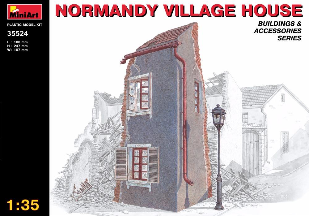Здесь можно купить  Out of print product! NORMANDY VILLAGE HOUSE BUILDING FOR DIORAMA 1/35 MINIART 35524 FREE SHIPPING  Игрушки и Хобби