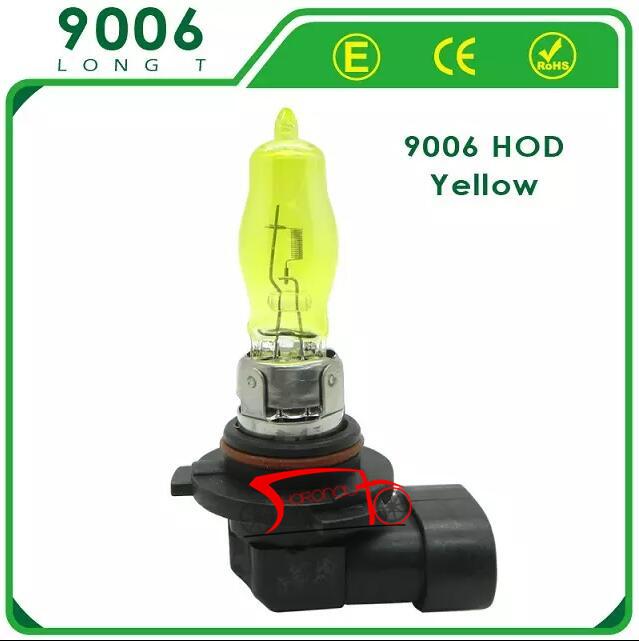 2 x 12 В 3000 К 100 Вт золотисто-желтый HOD 9006 авто ксенон-галогеновая лампы лампы фары противотуманные фары лампы