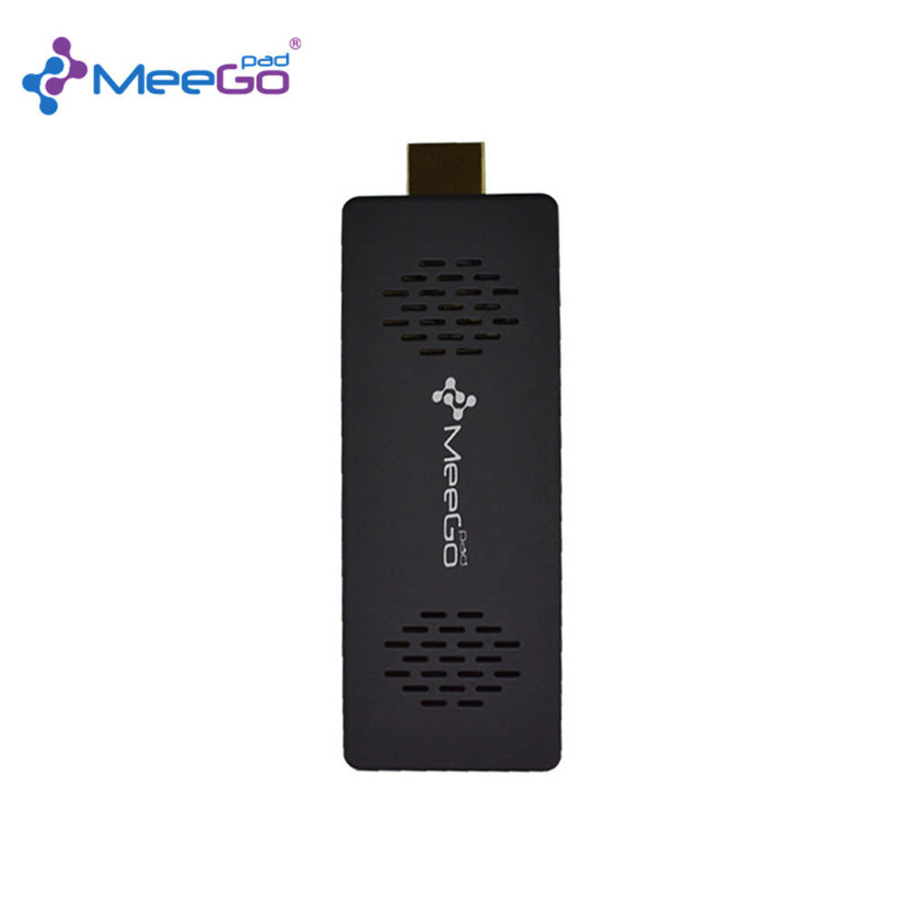 MeeGoPad T03 PRO Licensed Windows 10 Home Version Mini PC With Intel Atom 2G/32GB Support Wifi HDMI BT4.0 TV Box Compute Stick(China (Mainland))