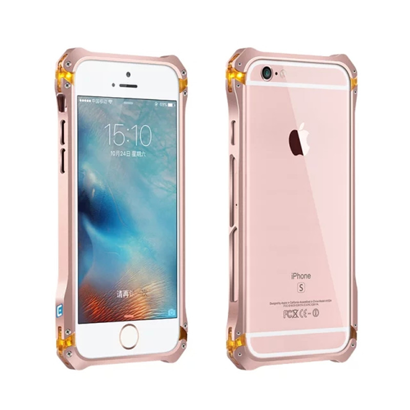 Ultra thin Metal Aluminum Frame protect phone Case For Apple iphone 5 5s Shockproof Cell Phone Mobile case frame for iphone 5 5s(China (Mainland))