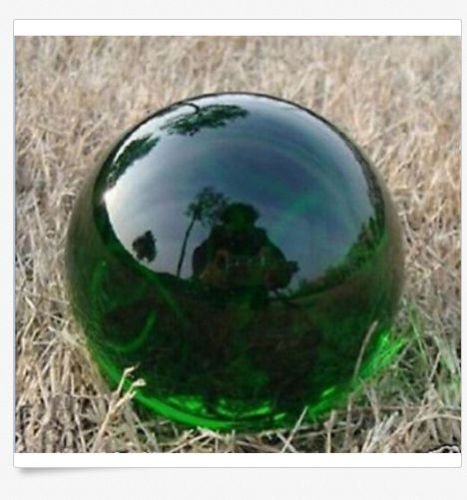 QUARTZ CRYSTAL home decoration Fine gift 40MM Austin green glass crystal ball + stand magic 40 mm + bracket(China (Mainland))
