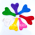 100pieces/lot 10inch 1.3g latex heart shaped multicolored balloon Christmas birthday wedding festival party decoration balloons