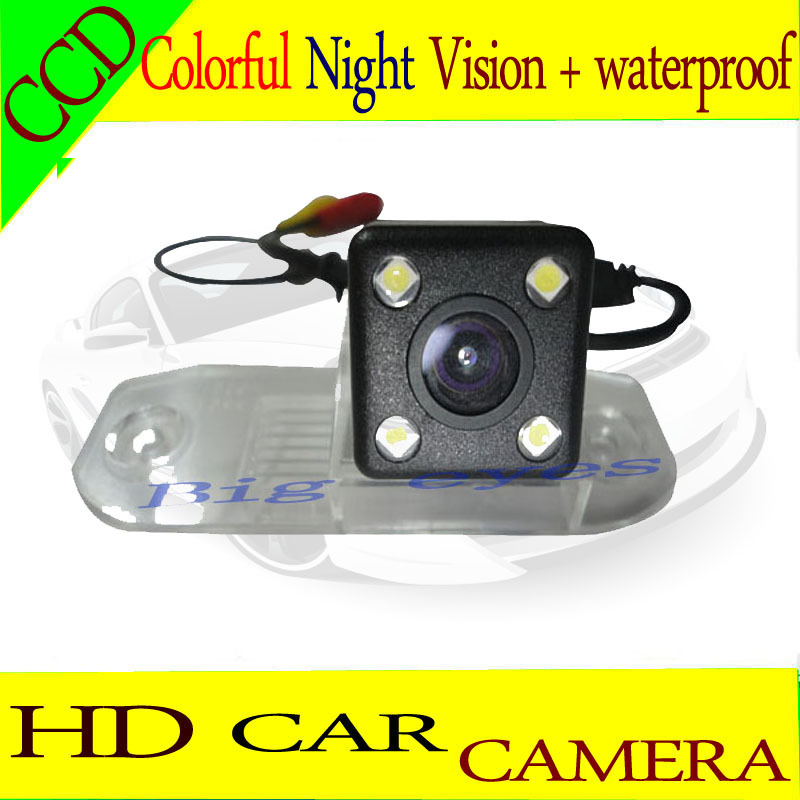 Free Shipping Car rear view camera for Volvo s80 / S70 / S40 / S40L / S80 / S80L night vision Parking camera(China (Mainland))