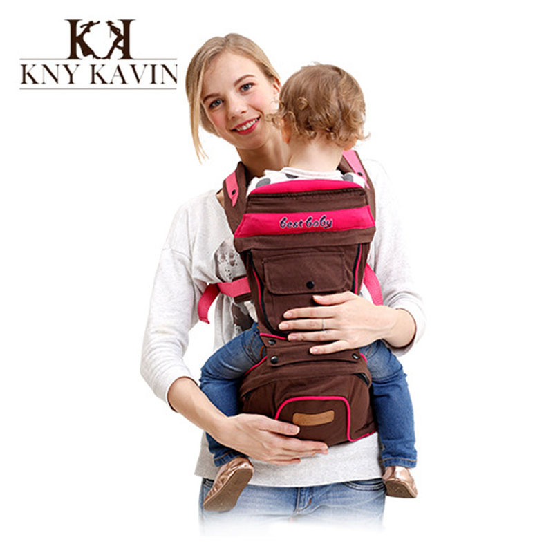Baby Carrier Sling Mochilas Hipseat Backpack Wrap 360 Infant Four Position Toddler Canguru 4-36month HK901