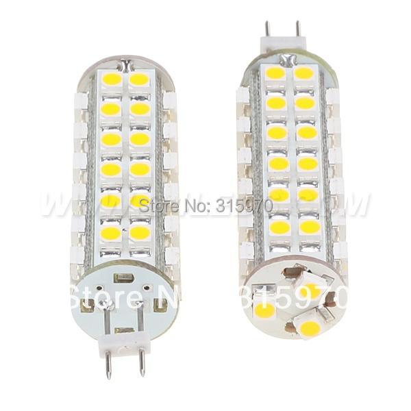 Free Shipment Super Bright G4 Led 3528 SMD G4 Led High Power G4 Led Lamp 51LED Bulb Wide voltage AC/DC10-30V Warm White(Hong Kong)