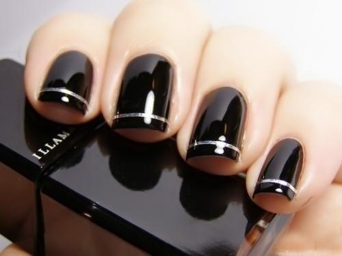 Shippingnail ferramentas Nail Art decoração acrílico Manicure Uv Gel Nail Polish cor preto 5 peças