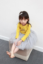 2016 New Design Pettiskirts Net Veil Skirt Baby Girls Kids Clothes Birthday Gift Toddler Ball Gown Short Party Kawaii Skirts