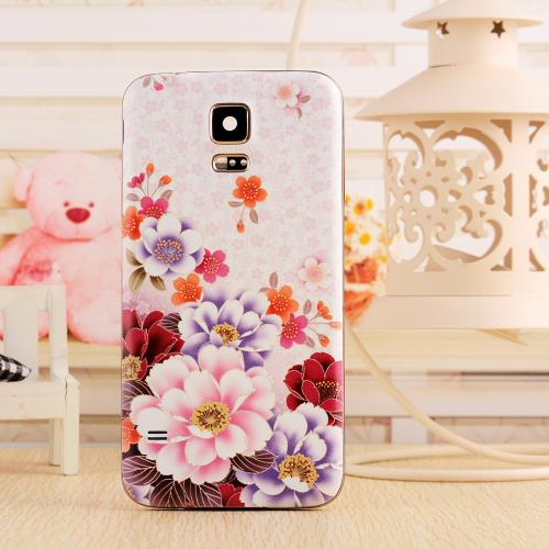 Battery Door Back Cover Samsung Galaxy S3 i9300 Fashionable 3D Relief Patinted Flower Design 16 Colors Available - Digital Fittings E-shop store