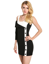 Buy 2017 New Fashion Spring Summer Casual Patchwork Womens Dresses Sexy Cotton Sleeveless Woman Dress S M L XL XXL 5 Sizes for $18.99 in AliExpress store