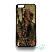 Fit for iPhone 4 4s 5 5s 5c se 6 6s 7 plus ipod touch 4/5/6 back skins cellphone case cover DEADPOOL MARVEL