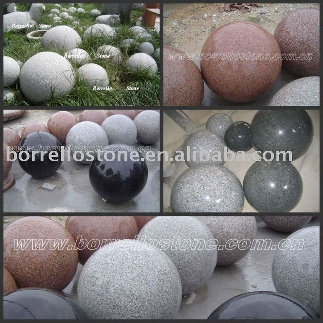 Ornamental Granite and Marble Stone Ball