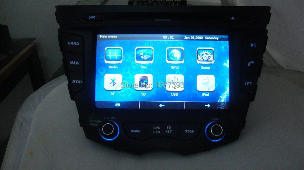 HYUNDAI VELOSTER 2011 ON DVD Player Android System GPS Navigation Radio Stereo Video Bluetooth Wifi 3G