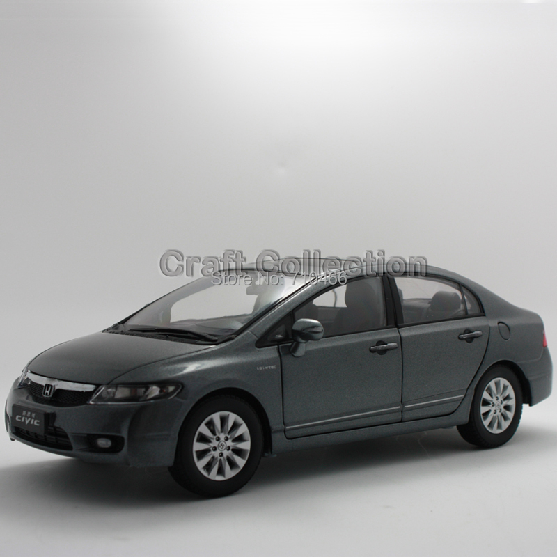 Silver 1:18 2009 Honda Civic 8 Alloy Model Car Diecast Model Show Car Miniature Toys(China (Mainland))