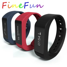 FineFun Smart Wristband I5 Plus I5 Bluetooth Smart Band with SMS Call Reminder Pedometer Sleep Monitor  Waterproof Touch Screen