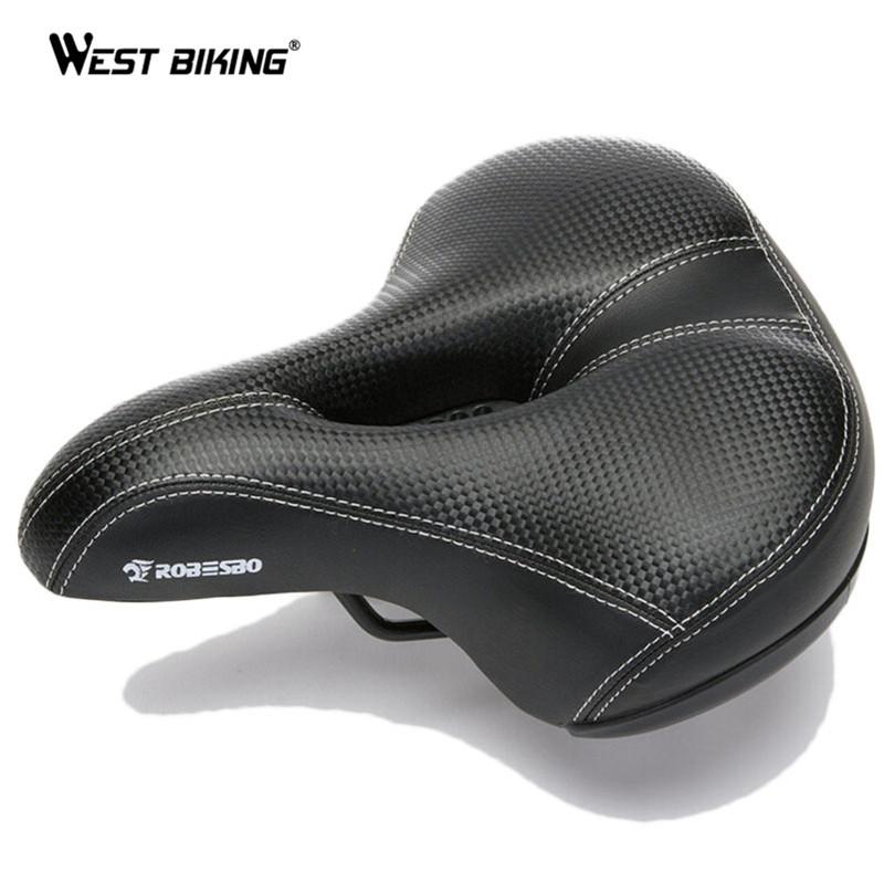 Гаджет  Wide Bicycle Seat Thicken Bike Saddle Bicicleta Seat Cycling Saddle MTB Cushion Asiento Bicicleta Sponge Soft Cycling Saddle None Спорт и развлечения