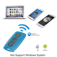 Bluetooth Multimedia Remote Music Control Camera Shutter for iphone 5 iphone 6s plus Samsung galaxy s4 s5 s6 NOTE 2 N7100