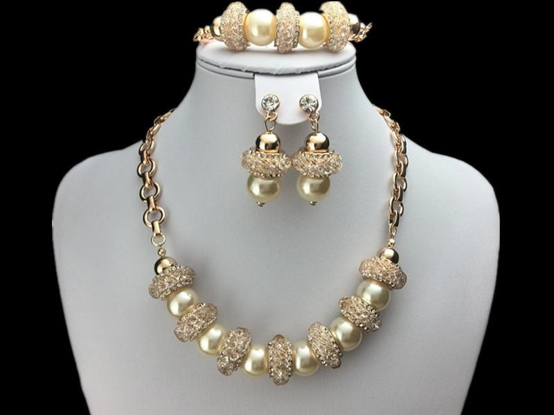 EEL Party Jewellery Set/Fashion Zircon Pearl Jewelry  -  fashion jewelry store store