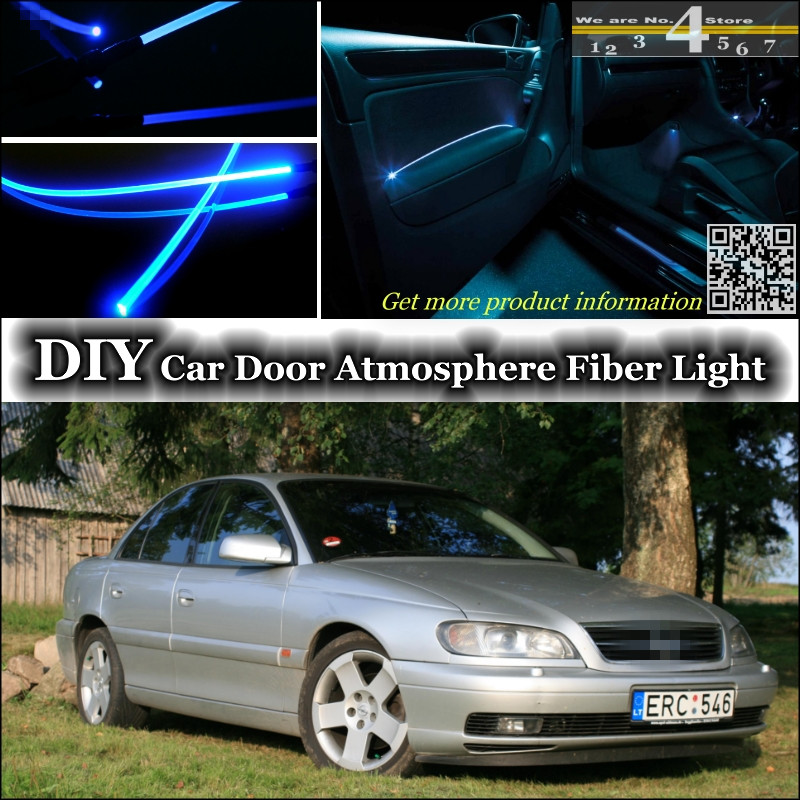 interior Ambient Light Tuning Atmosphere Fiber Optic Band Lights For Opel Omega B1 B2 For Vauxhall For Lotus Omega Inside Door<br><br>Aliexpress