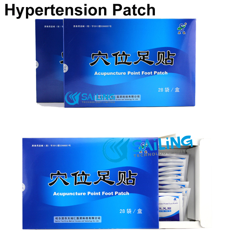 56 pieces ZB hypertension Patch reduce control high blood pressure hypertension patch to clean blood vessel(China (Mainland))