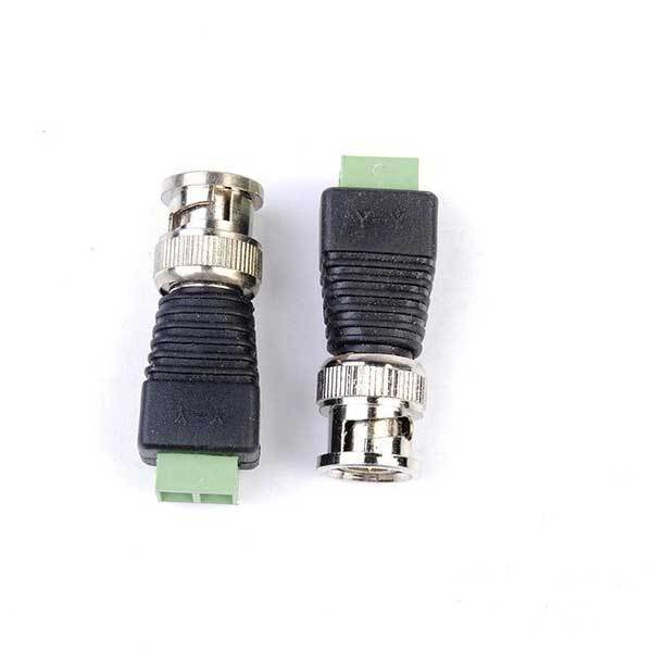 BidWise Shop 2pcs Coax CAT5 BNC Video Balun Connector for Security Camera System(China (Mainland))