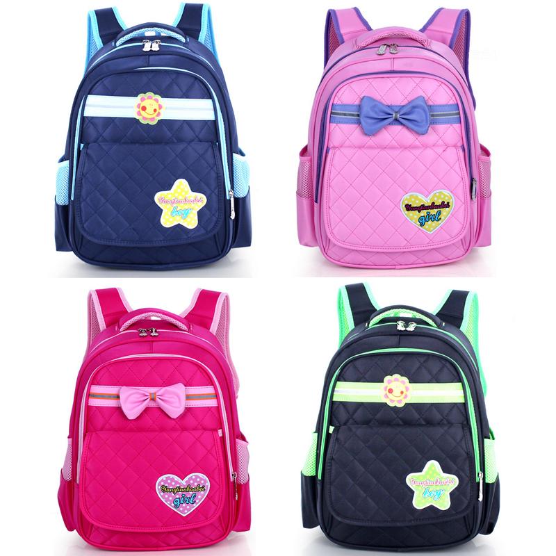 Children School Bags Girls Bowknot Waterproof Backpacks Fashion Teenagers Primary Schoolbag - Online Store 426955 store