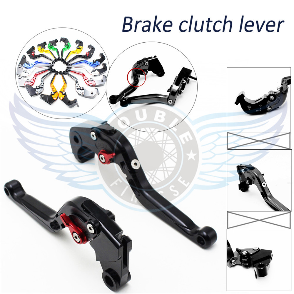 new products motorcycle accessories CNC brake clutch levers black color bicycle brake clutch lever For Suzuki RF 600R 1993(China (Mainland))
