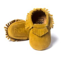 Newborn Boy Girl Suede Tassel Shoes Toddler Soft Sole Crib Slip-On Pre-walker Infant Coral Velvet Moccasins High Quality(China (Mainland))