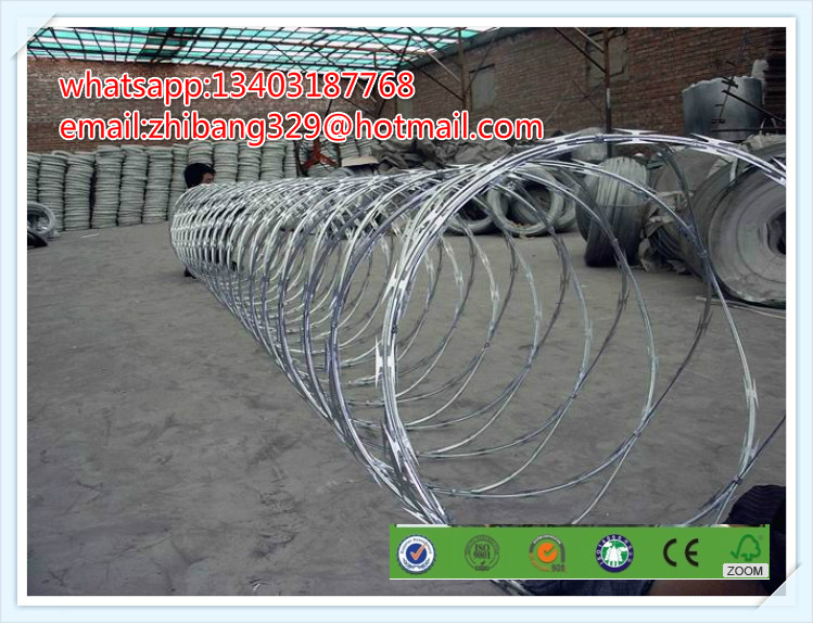 Razor Blade Barbed Wire Factory (ISO, SGS, CE)(China (Mainland))