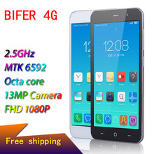 Original Phone Smartphone BIFER 4G Mobile Phone MTK6592 Octa Core MT6582 Quad Core Celular Android 5.0 13.0MP Camera Cell Phone(China (Mainland))