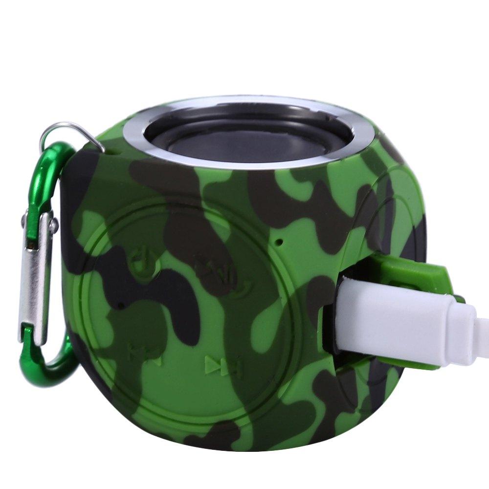 DT-B660 Mini Portable Wireless Bluetooth V4.1 Stereo Music Speaker IPX7 Handsfree Sound Box Waterproof Dust / Crash Resistant(China (Mainland))