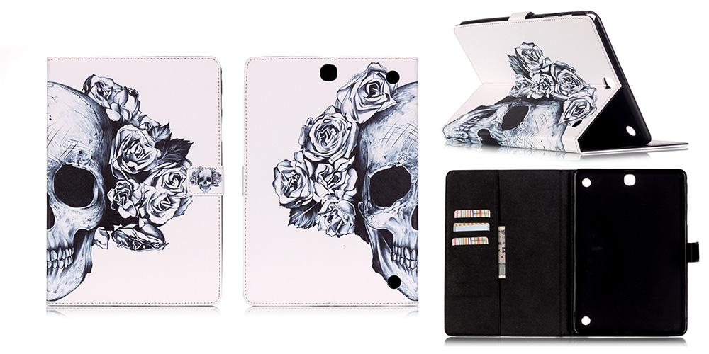 Stand Tablet PU Leather Cover Case For Samsung Galaxy Tab A 9.7 T550 T555 T551 Fundas Coque W/Card Slots