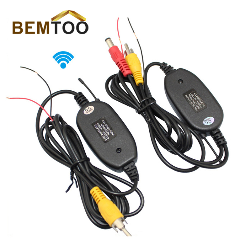 BEMTOO 2.4G WIRELESS Module adapter for Car Reverse Rear View backup Camera cam , Free Shipping(China (Mainland))