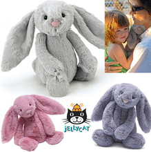 Original Jelly Bunny Rabbit with Tags and CE 45CM Length Cute Lovely Baby Toys Plush Toy for Kids Gifts NT128(China (Mainland))