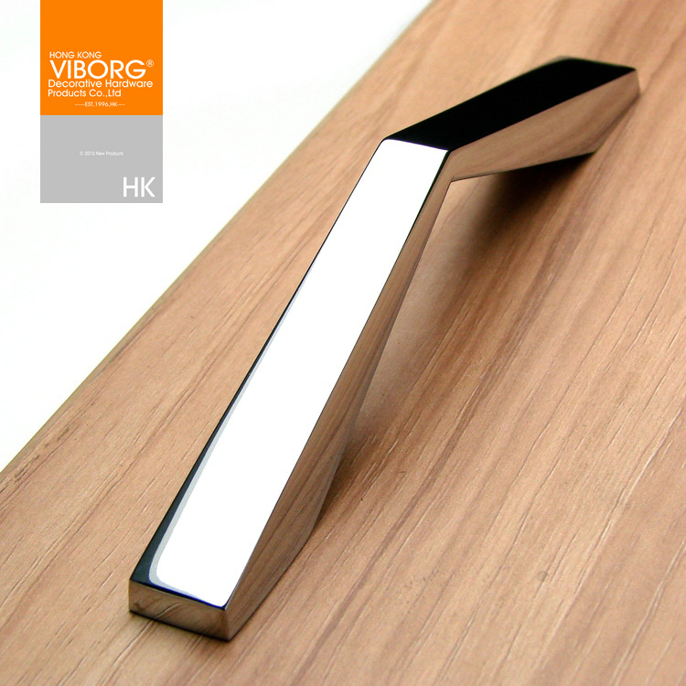 Modern Kitchen Cabinet Cupboard Door Drawer Handles Pulls Chrome SA