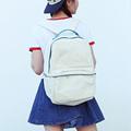 2016 Children Canvas School Bags Solid Color Mochila Infantil Escolar Kawaii Backpack Kid Girl Book Shoulder