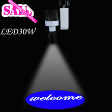 2015 Welcome to the new advertising lights pattern three color options Welcome LOGO blue yellow red lamp free shipping(China (Mainland))