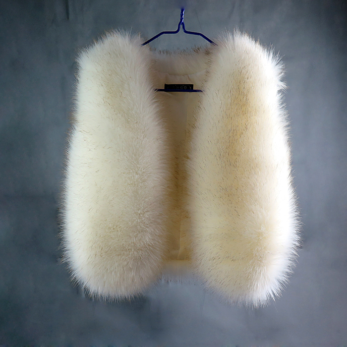 Good quality! 2014 autumn and winter womens short design faux fox fur vest outerwear thicken warm waistcoat Одежда и ак�е��уары<br><br><br>Aliexpress