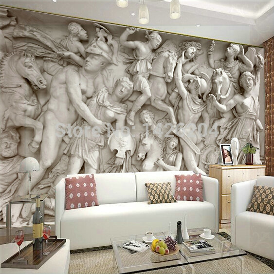 Great Wall 3d Wall Wallpaper Murals For Living Room Photo