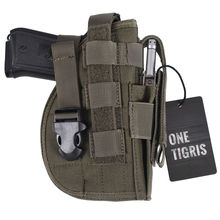 OneTigris Tactical Molle Modular Pistol Holster with Mag Pouch for Right Handed Shooters 1911 45 92 96 Glock 2pcs/lot
