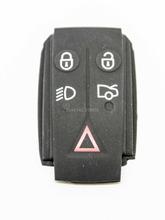 Jaguar X S E F TYPE XJ XK XF XKR Remote Key FOB 4+1 Button Rubber Pad - keyecu's store