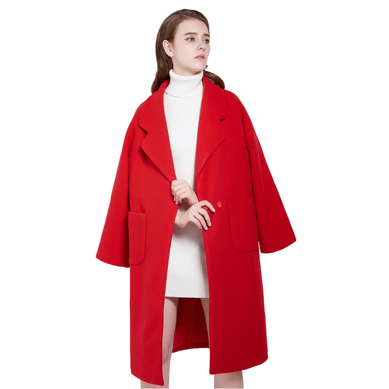 Online Get Cheap Long Red Winter Coat Women -Aliexpress.com