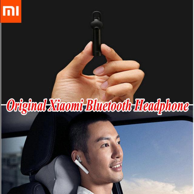 Горячая распродажа! Оригинал Xiaomi связь Bluetooth гарнитура LYEJ01LM Bluetooth 4.1 Xiaomi Mi Bluetooth наушники строить-в Mic Handfree