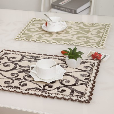 4PCS/set Fluid Systems Placemats Meal Cup Pad Tables decoration accessories Kitchen Dining bar Tableware Restaurant Catering(China (Mainland))