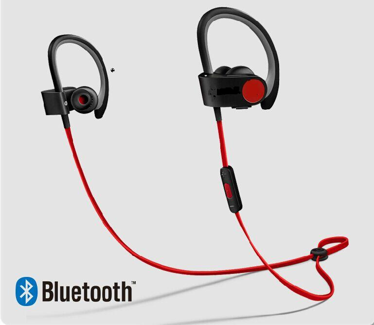 Newest hot bluetooth wireless earphone& headphone sport Motion Hanging Ear Headset PB 2 noise cancelling with brand logo(China (Mainland))